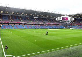 Estádio Turf Moor, palco da partida