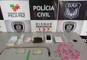 Polícia prende traficante e desarticula ponto de venda drogas em Campina Grande