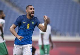 Com gol do paraibano Matheus Cunha, Brasil vence o Egito e avança à semifinal
