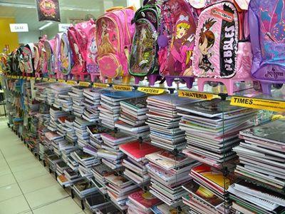Procon constata variação de até 500% no material escolar