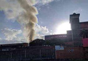 Incêndio atinge depósito de eletrodomésticos em João Pessoa