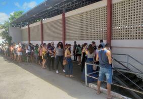 Primeiro dia de uminuzação de profissionais da educação ocorreu no domingo (16)