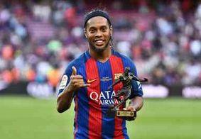 Após ter passaporte retido pela Justiça, Ronaldinho não comparece a evento em Dubai