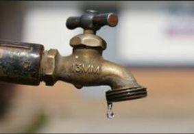 Sem água em João Pessoa