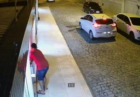 Suspeito de assalto no bairro do Bessa