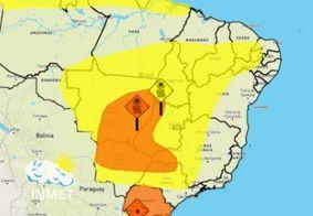 Inmet alerta para baixa umidade em 80 cidades da Paraíba