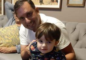"""Pai fala sobre último momento com Gael: """"Me abraçou e falou 'papai, tchau te amo'"""""""