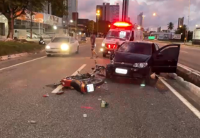 Homem morreu em acidente na madrugada desta sexta (19)