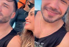 Namorando? Sarah Andrade mostra passeio com Lucas Viana