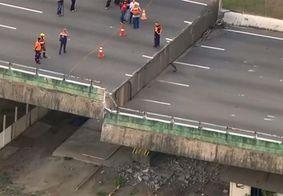 Prefeitura de SP termina de erguer viaduto que cedeu