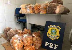 Polícia encontra 176 kg de buchada de bode transportada sem refrigeração, na PB