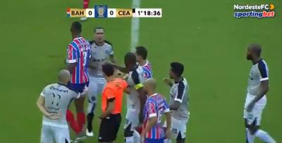Com gol nos acréscimos, Ceará vence o Bahia e amplia vantagem nas finais do Nordestão