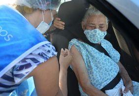Saiba como será a vacinação dos idosos de 75 a 79 anos contra a Covid-19 em João Pessoa; confira os locais