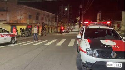 Homem morre após ser baleado no Centro de João Pessoa