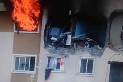 Menino morre ao ser lançado de janela por explosão em apartamento