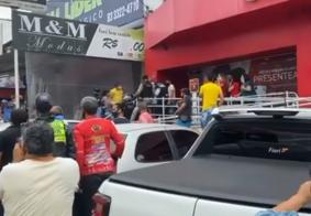 Assalto ocorreu em loja de Campina Grande
