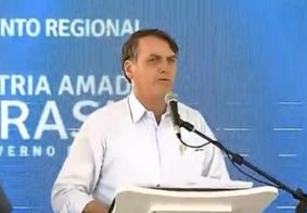 "Bolsonaro diz que ex-presidente é ""boca mole"": fala bonito, mas rouba"