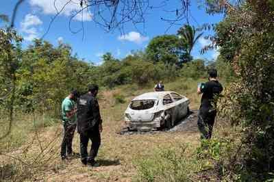Polícia encontra carro usado para executar PM e roupas sujas de sangue