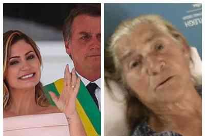 Avó de Michelle Bolsonaro aguarda cirurgia em maca no corredor de hospital do DF