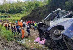 Sobe para 19 o número de mortes no acidente com ônibus em João Monlevade-MG