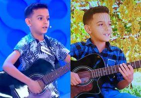 Pernambucano aprovado no 'The Voice Kids' já teve história contada na 'Eliana'; reveja