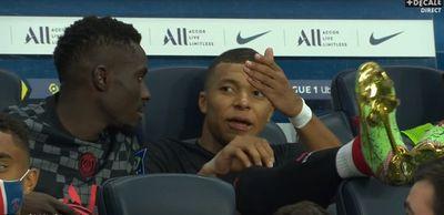 Mbappé na bronca com Neymar