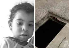 Criança de 1 ano morre afogada após cair em cisterna em Alcantil, na PB