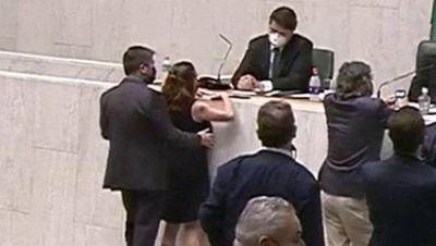 Assembleia de SP afasta parlamentar que apalpou colega durante sessão