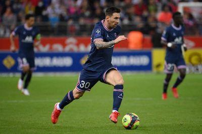 Messi foi substituído aos 30 do segundo tempo