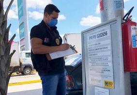 Gasolina tem variação de R$ 0,26 em João Pessoa, diz Procon