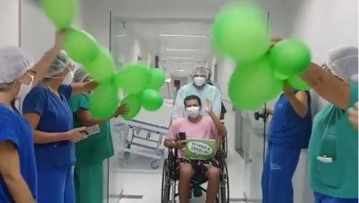Hospital de Trauma de João Pessoa registra mais de 200 altas da área Covid-19