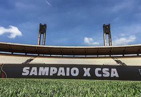 CSA e Sampaio Corrêa empatam sem gols e avançam para a próxima fase do Nordestão