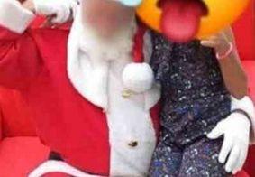"Papai Noel acusado de estar ""excitado"" diz que doença no testículo causou engano"