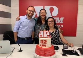 Jovem Pan João Pessoa celebra dois anos de sucesso