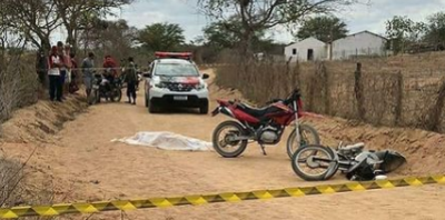 Colisão entre motos deixa um morto no interior da Paraíba
