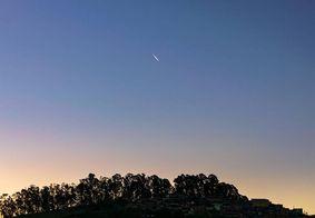 Vídeos: veja o Cometa Neowise cruzando o céu do Brasil