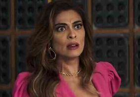 'Não parava de chorar', diz Juliana Paes sobre encontro com Joana em 'A Dona do Pedaço'