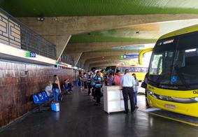 Rodoviária de João Pessoa deve registrar quase 40 mil viagens no feriadão