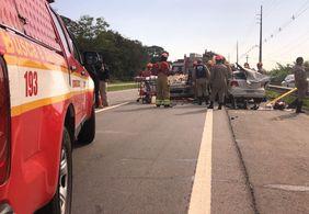 Três vítimas do acidente na BR-230, em Santa Rita, seguem internadas