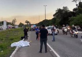 Motociclista morre ao colidir contra carro na BR-230, em João Pessoa