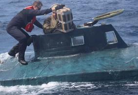 Submarino carregado com cocaína é apreendido no oceano pacífico