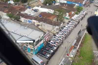Operação com mais de 80 policiais é realizada no Litoral Sul da Paraíba; veja