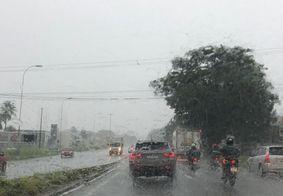 João Pessoa terá fim de semana com mais chuvas, diz Aesa
