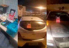 PM prende integrantes de quadrilha envolvida em roubos de carros na PB
