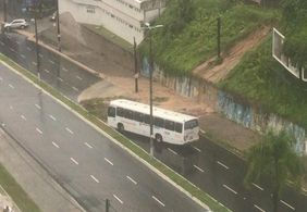 Frota de ônibus em João Pessoa é reduzida por conta de chuvas