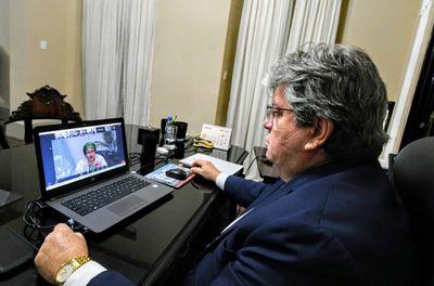 João Azevêdo solicita ajuda humanitária à ONU para enfrentamento da Covid-19