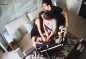 Esposa de DJ Ivis expõe vídeos de agressão.