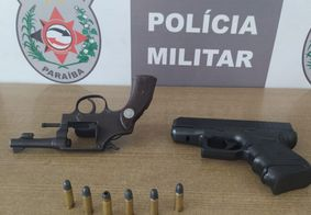 PM detém dupla suspeita de cometer assaltos na Zona Sul de João Pessoa