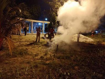 20 fogueiras são apagadas durante operação na Paraíba