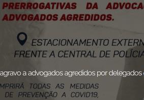 OAB confirma desagrado público contra delegados e agentes da Polícia Civil